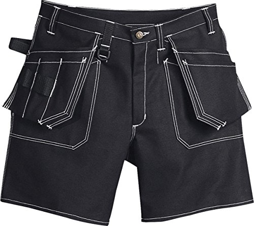 Fristad Kansas - Shorts 275 FAS Sz 34.5/88 Reg Black 100288-940 C50 (Handy Shorts Pocket)