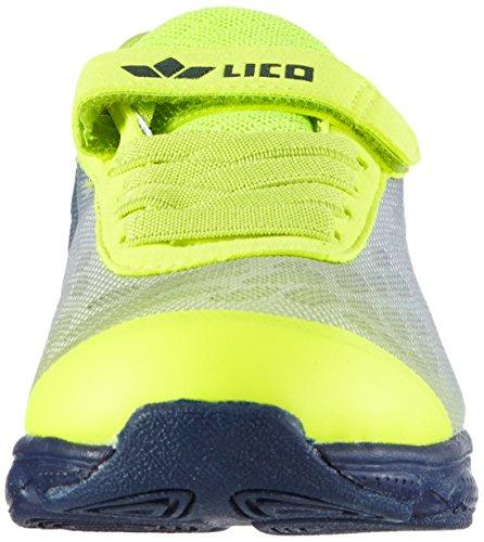 Lico Ray Vs Jungen Low-Top Gelb (lemon/marine)