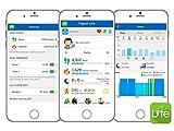 Tracker-dactivit-Fitness-Tracker-Smart-Bracelet-Frquence-Cardiaque-Sant-Sommeil-Calorie-et-Distance-tapes-Moniteur-IPX7-Sans-Fil-Bluetooth-dactivit-Tracker-Podomtre-Sport-Smartphones-Apple-iPhone-et-A