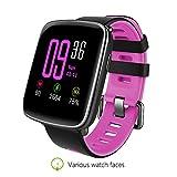 Kingwear GV68sport Bluetooth Smart Watch Wristband con frequenza cardiaca notifica di chiamata...