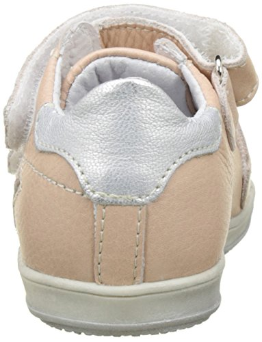 Little Mary Baby Mädchen Betty Sneaker Pink (Soft Nude+blan/arge)