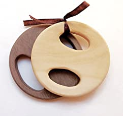 Wooden Teether Biscuit (Pure Organic NO Plastic,NO Silicon) (Baby Teethers)