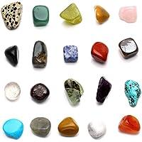 JOVIVI Naturstein Set Heilstein Chakra-Set 20x verschieden Edelsteine Trommelsteine Formlos Natural Gemstones... preisvergleich bei billige-tabletten.eu