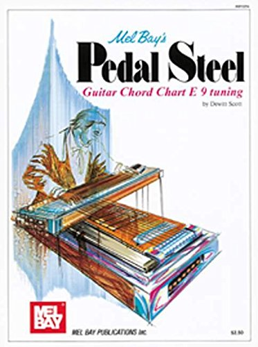 Mel Bay's Pedal Steel Guitar Chord Chart E 9 Tuning