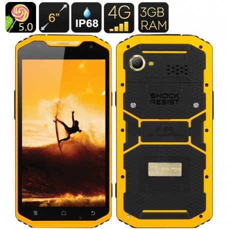 Mfox-A10-Smartphone-Rugged-Pro-Gold-237-g-Au750-oro-6-pollici-1080-P-schermo-Android-50-4G-altimetro