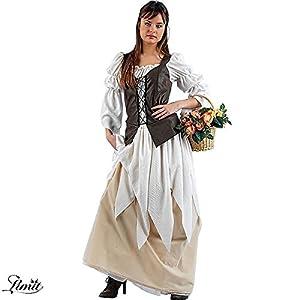 Limit Sport - Disfraz de tabernera medieval Eugenia, para adultos, talla M (MA167)