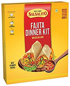 Salsalito Fajita Dinner Kit, 488g