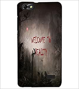PrintDhaba Quote D-3188 Back Case Cover for HUAWEI HONOR 4C (Multi-Coloured)