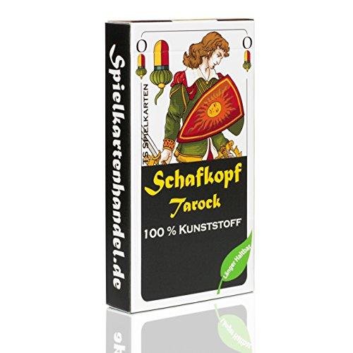 TS Spielkarten Schafkopf Karten aus 100% Kunststoff (Plastik +) bayrisch, wasserfest (Kunststoff-spiel-karten)