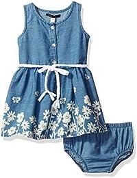 Kensie Baby Girls' Spring Flowers Dress