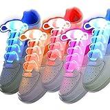 LED Schnürsenkel 5 Paar Glowing Flash LED Blinklicht Leuchte Schuhbänder...