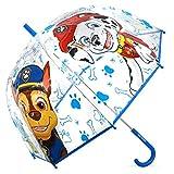 4911 Süßer Kinder Regenschirm Kinderschirm Stockschirm - PAW Patrol Rescue Team