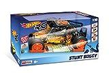 Mondo Motors-Hot Wheels Stunt Buggy-Radiocomando Scala 1:10-Batterie Ricaricabili Incluse Nero-63437, Colore Nero, 63437