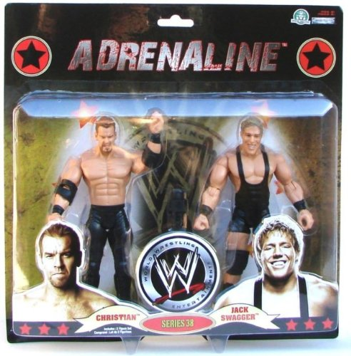 WWE Adrenaline (Series 38) Christian vs Jack Swagger Deluxe Figuren 2-er Set
