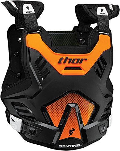 MOTOCROSS BRUSTPANZER THOR SENTINEL GP MX PROTEKTOR ENDURO OFFROAD CROSS ATV (M/L, Orange)