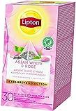 Lipton Asiatischer weißer Tee und rose Pyramid