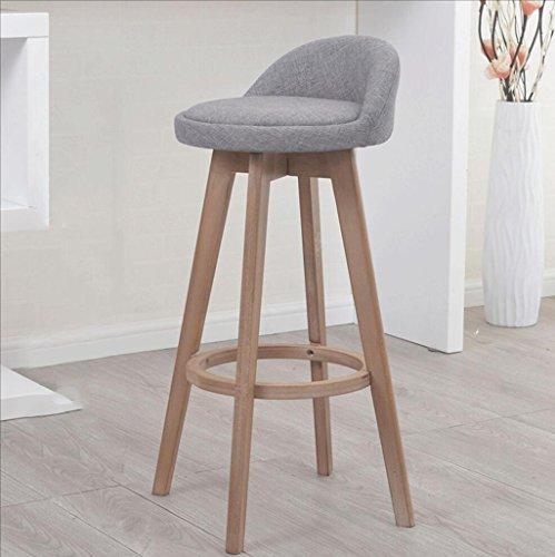 Nimm Einen Stuhl Massivholz Barhocker Drehbar Barhocker Barhocker Barhocker Hochstuhl Vorderhocker...