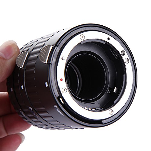 Baoblaze Metall Auto Fokus Makro Verlängerungsrohr Für Nikon AF AF-S DX FX SLR Kamera