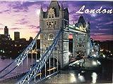 """Tower Bridge de Londres Inglaterra Imán de frigorífico de recuerdo de coleccionista 2.5""""x 3.5"""""""