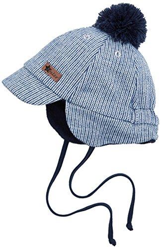 Sterntaler Baby - Jungen Mütze Schirmmütze 4611725, Gr. 51, Blau (atlantik 307)