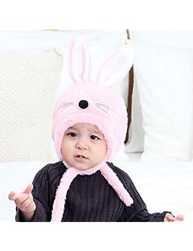 Prevently brand new Bright color colore solido dolce carino orecchie da coniglio per bambini, Boy Girl Knitted...