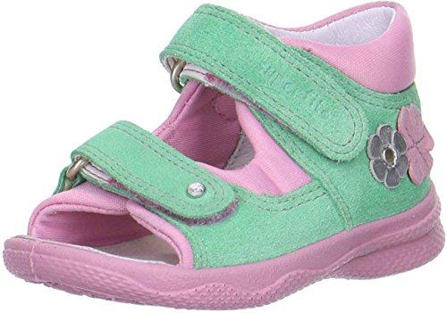 Superfit POLLY Schuhe Baby Mädchen Sandalen, Grün (Mint Kombi 54), 24 EU