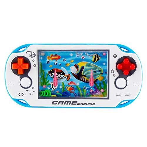 greatdaily Water Game Wasser Konsole Ring Spiel, Retro Spielzeug Puzzle Spiel Spielzeug Für 3 Jahre Oder Ältere Kinder