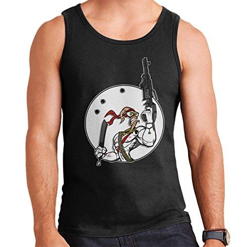 Battle Worm Earthworm Jim Men's Vest Black