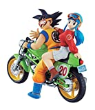 Megahouse Figure Dragonball - Goku & Chi-Chi (Bike)