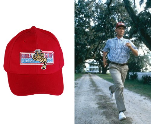Forrest Gump Bubba Gump Kappe Hut Red Baseball Cap (Red Trucker Hut Kostüm)