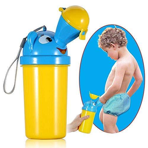 Rziioo 2pcs wiederverwendbares Urinal, tragbares männliches weibliches Urinal-Trichter-Rohr-Reise-Urinierungs-Gerät im Freien,B