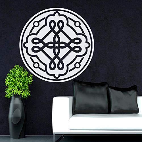 BailongXiao Mandala Blume wandtattoo Moderne Vinyl wandaufkleber Schlafzimmer Wohnzimmer Home DIY kunstwand Logo Aerobic Studio Dekoration 42x42 cm