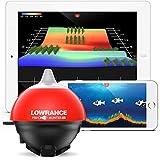 BTK Lowrance 000-14240-001 Mobile FishHunter 3D Schwarz/Orange
