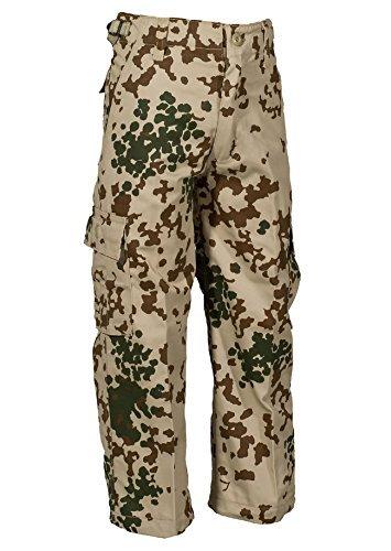 Robuste + Komfortable US Style Kinder Jungen Mädchen Rangerhose Freizeithose Kampfhose viele verschiedene Farben S-XXXL (L (146/152), Tropentarn)
