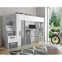Suchergebnis auf Amazon.de für: Kinderzimmer hochbett komplett