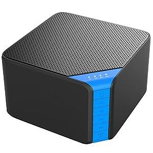 White noise machine,AVANTEK Einschlafhilfe Weißes Rauschen 7 Timer-Einstellungen, eingebauter Kopfhörer und wiederaufladbarer USB-Stecker mit Netzteil