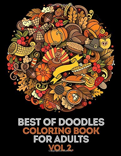 g Book for Adults vol 2.: 35 High Quality Doodle Designs From Our Doodle Books (Paisley, Halloween, Music, Dessert, Food, Easter, ... Doodle,Paisley, Floral Ornament etc.) ()