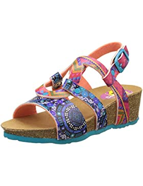 Desigual Wedge Bio, Heels Sandals Niñas
