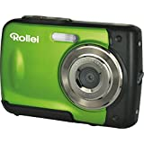 Rollei Sportsline 60 - Fotocamera Digitale, Impermeabile Fino a 3 m, Ideale per Bambini, 5 Megapixel, Funzione Video HD - Verde - Rollei - amazon.it