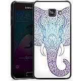 Samsung Galaxy A3 (2016) Housse Étui Protection Coque Éléphant Mandala Ornements