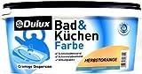 Dulux Bad & Küchenfarbe, 2,5 Liter in Herbstorange seidenmatt