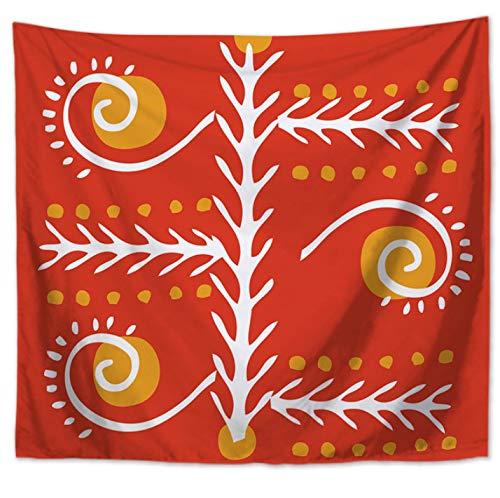 Boho Tapisserie Liebe erstreckt Sich gedruckt hängende Wandteppiche Indian Home Decor 150 * 130 cm (Indian Home Decor)