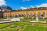 druck-shop24 Wunschmotiv: Weilburg, die Untere Orangerie im Schlossgarten. Oktober 2016. #122960769 - Bild auf Forex-Platte - 3:2-60 x 40 cm/40 x 60 cm