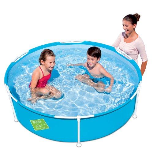 152cm Swimming Pool Planschbecken Schwimmbecken Frame Pool Kinderpool Rahmenpool