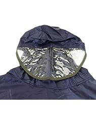 Cablematic - Protection imperméable imperméable poncho de pluie vélo 160-180cm