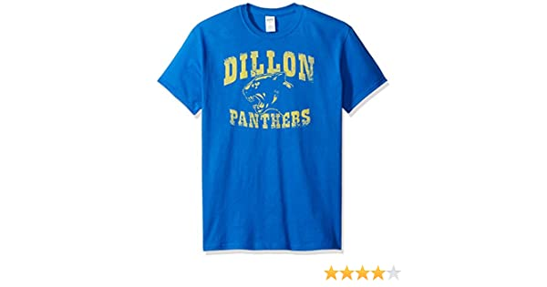 Friday Night Lights Dillon Panthers Distressed Royal Blue Adult T-shirt  Tee  Amazon.co.uk  Clothing 5ae6f49b5
