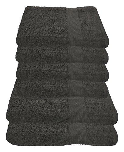 Julie Julsen Handtuch Set 2X Duschtuch 4X Handtuch Anthrazit/in 23 Farben erhältlich weich und saugstark