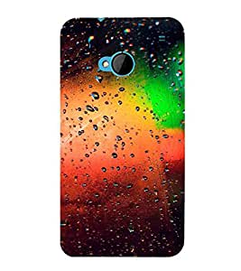Dotted Pattern, Multicolor, Great Pattern, Beautiful Pattern, Printed Designer Back Case Cover for HTC M7 :: HTC One M7