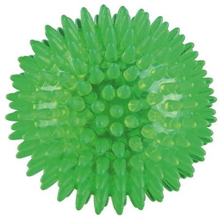 TRIXIE Igel-Ball, Hundespielzeug, schwimmfähig, aus thermoplastischem Gummi