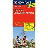 Drömling - Salzwedel - Altmark: Fahrradkarte. GPS-genau. 1:70000 (KOMPASS-Fahrradkarten Deutschland, Band 3037)